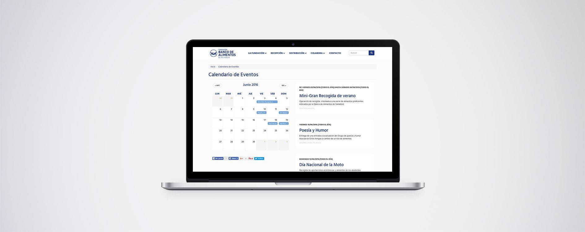 Fundación Banco de Alimentos de Valladolid - Laptop