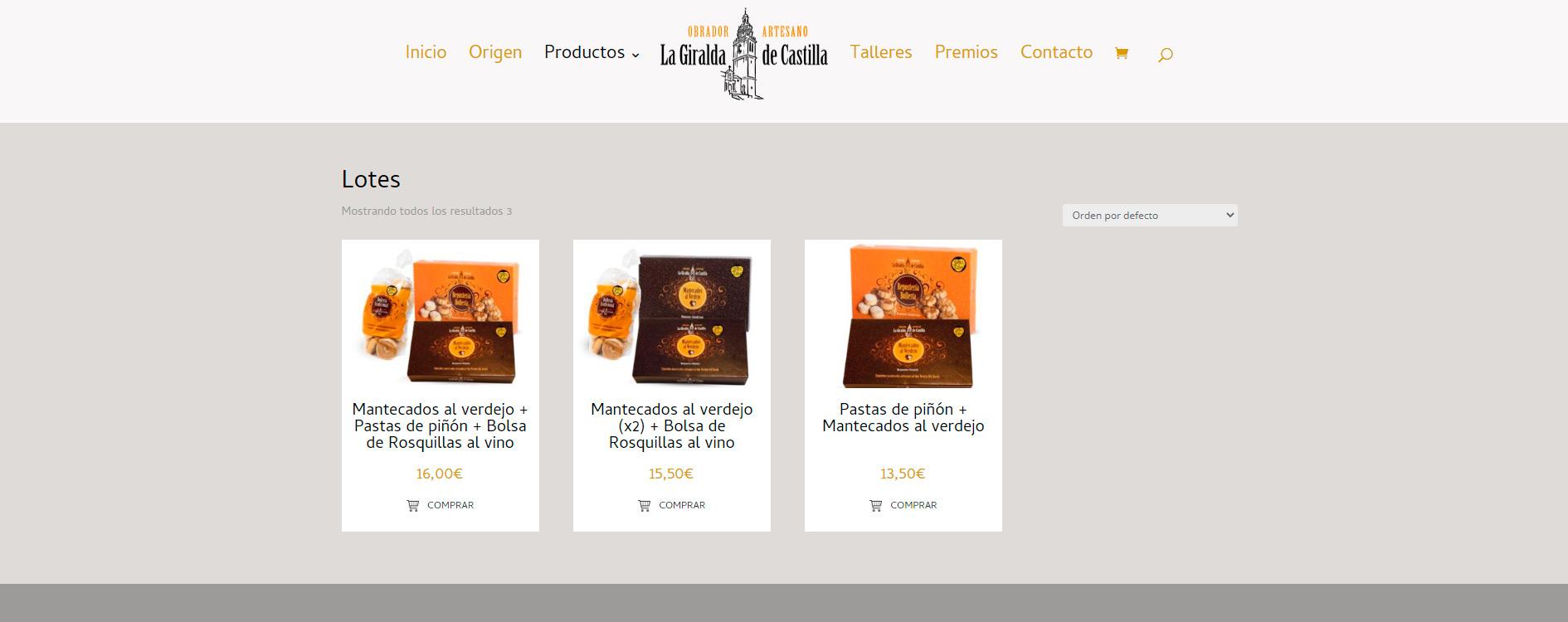 La Giralde de Castilla tienda online