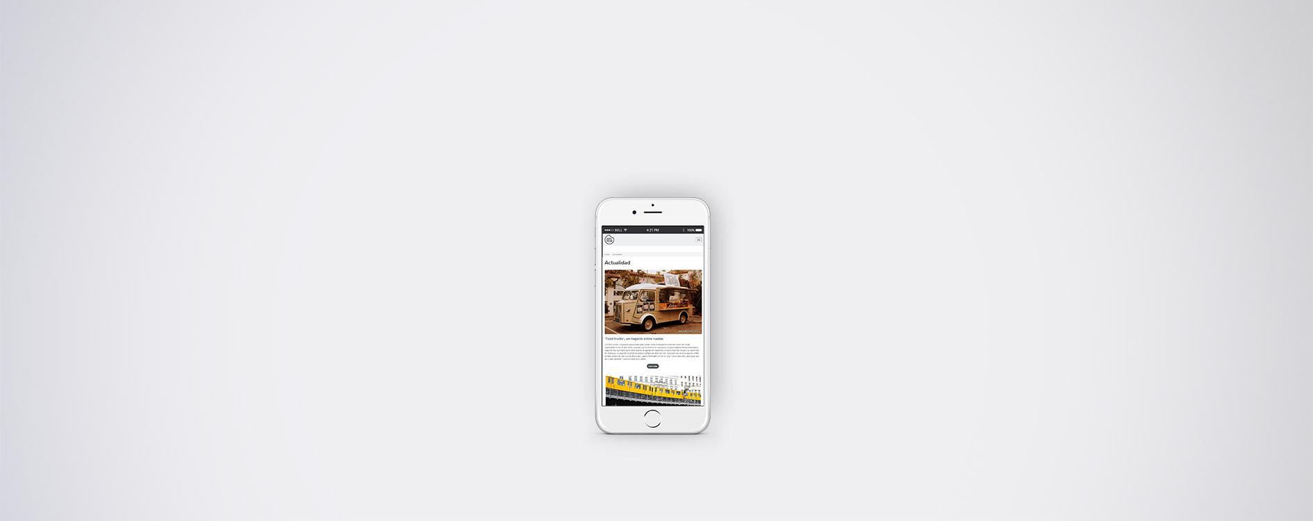 Modern Food - Mobile