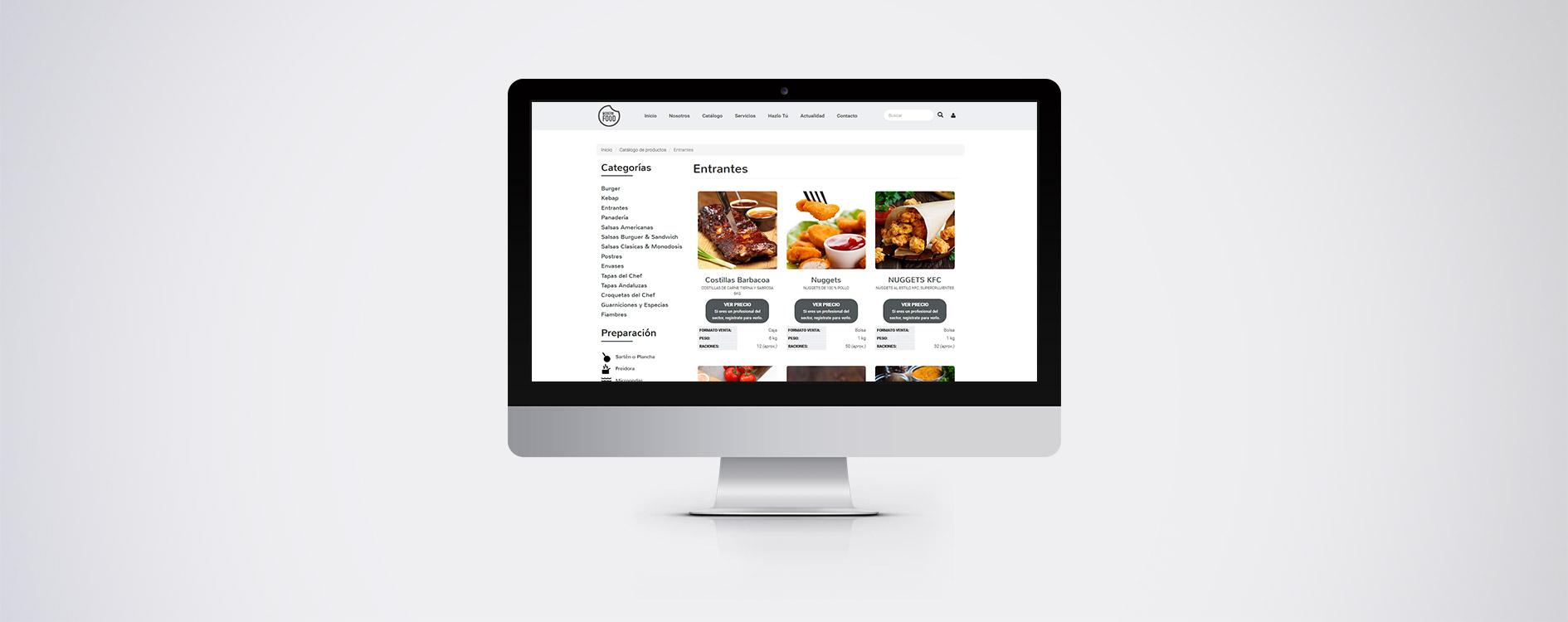 Modern Food - Desktop