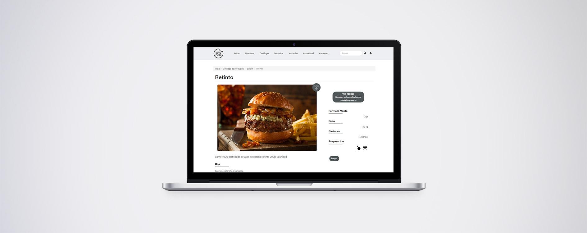 Modern Food - Laptop