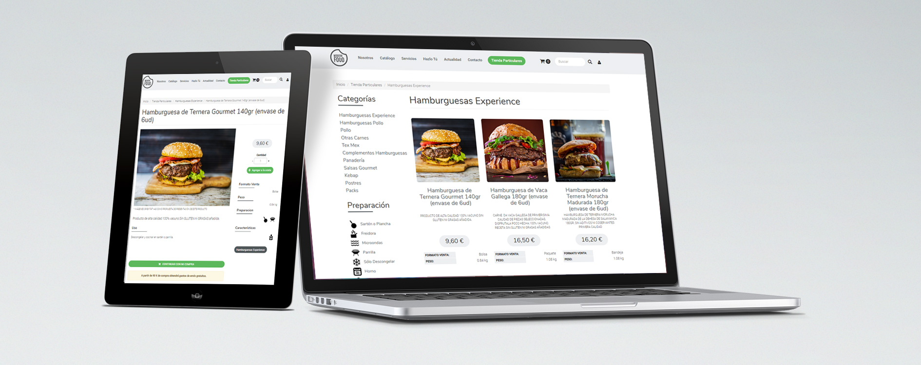 Modern Food Distribuidor de alimentos congelados
