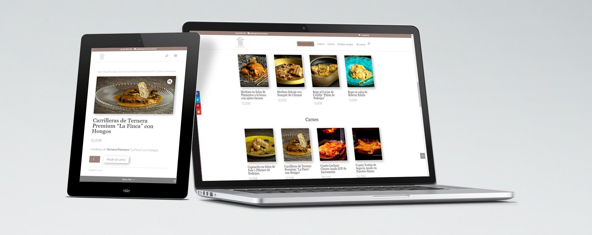Pic Nic en tu Casa ecommerce gastronomía alta calidad